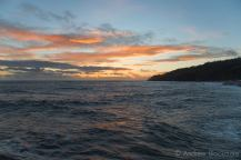 Sunset over Pinny, Lyme Regis - Jaunt with Jane