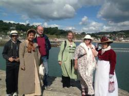 Time to Get Out Your Regency Clothing & Promenade About Town, Lyme Regis - Jaunt with Jane