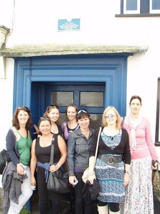 Outside Pyne House, Lyme Regis - Jaunt with Jane