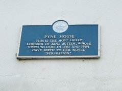 Outside Pyne House, Lyme Regis - Jaunt with Jane
