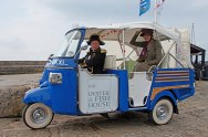 Been Swept Away by the Captain on a Modern Horse in Lyme Regis - Jaunt with Jane