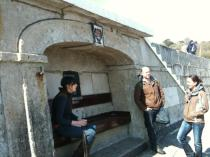 One of the Sets of Steps on the Cobb, Lyme Regis - Did Louisa Musgrove Fall Here? Jaunt with Jane