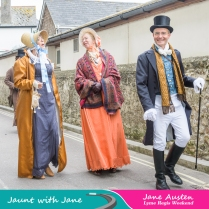 JWJ, Lyme Regis - the Guided Tour, Jane Austen Garden & Marine Parade 17_10_15-17 (1000px)