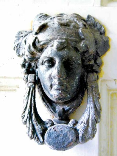 Coade Stone Detail at Belmont