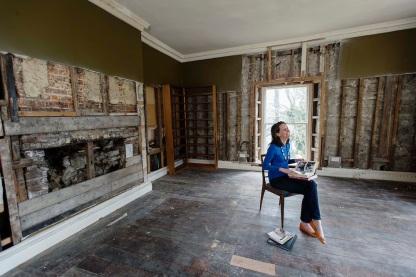 John Fowles's Writing Room at Belmont