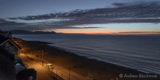 Dawn over Lyme Bay from Sundial House, Lyme Regis 23_11_15-1 (1000px)-2