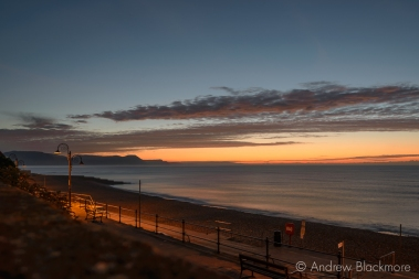Dawn over Lyme Bay from Sundial House, Lyme Regis 23_11_15-3 (1000px)
