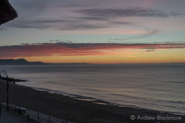 Dawn over Lyme Bay from Sundial House, Lyme Regis 23_11_15-7 (1000px)