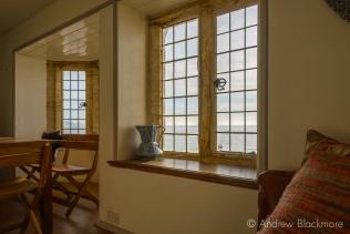 Early morning light through windows in Sundial House, Lyme Regis 23_11_15-1 (1000px)