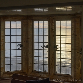 Early morning view through windows in Sundial House, Lyme Regis 22_11_15-4 (1000px)