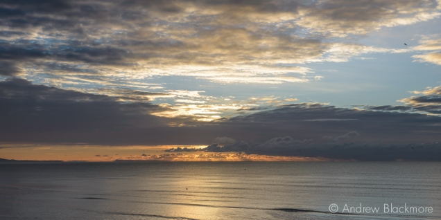 Sunrise over Lyme Bay from Sundial House, Lyme Regis 22_11_15-1 (1000px)