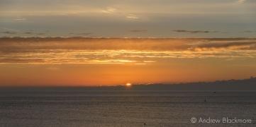 Sunrise over Lyme Bay from Sundial House, Lyme Regis 23_11_15-2 (1000px)