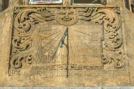 The sundial on Sundial House, Lyme Regis 22_11_15 (1000px)